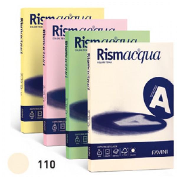 Carta RISMACQUA 140gr A3 200fg avorio 110 FAVINI