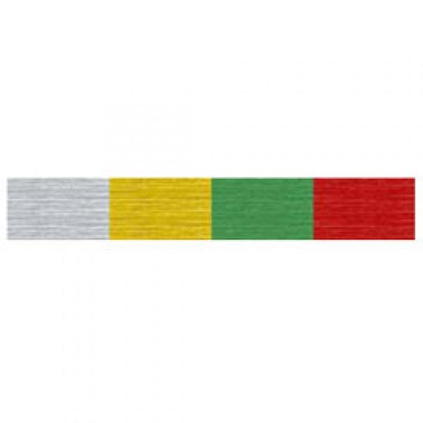 10RT CARTA CRESPA ROSSO METAL 132 (50X150CM) SADOCH