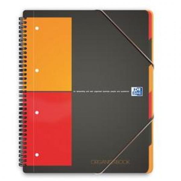 MAXI SPIRALATO 240x297mm 5mm c/margine 80fg 80gr ORGANISER BOOK OXFORD