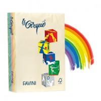 Carta LECIRQUE A4 160gr 250fg mix 5 colori pastello FAVINI