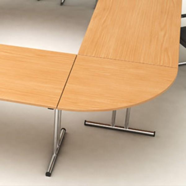 RACCORDO ANGOLARE 90° 80x80cm GRIGIO per TAVOLI EASY Fold