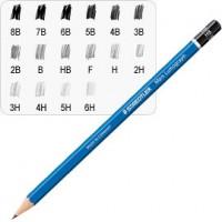 Matita grafite Mars® Lumograph® 100-9B Staedtler