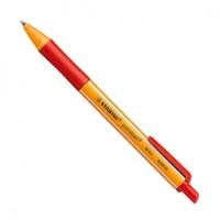 Penna a sfera a scatto POINTBALL® GREEN STABILO 0,5mm rosso