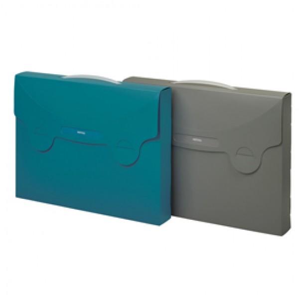 Valigetta porta documenti MATRIX grigio 38x29cm FAVORIT