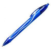 Scatola 12 penna sfera scatto Gelocity quick dry blu BIC®